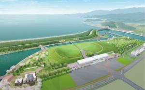 高田松原津波復興祈念公園完成予想図